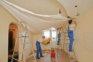 Аспекты установки натяжных потолков